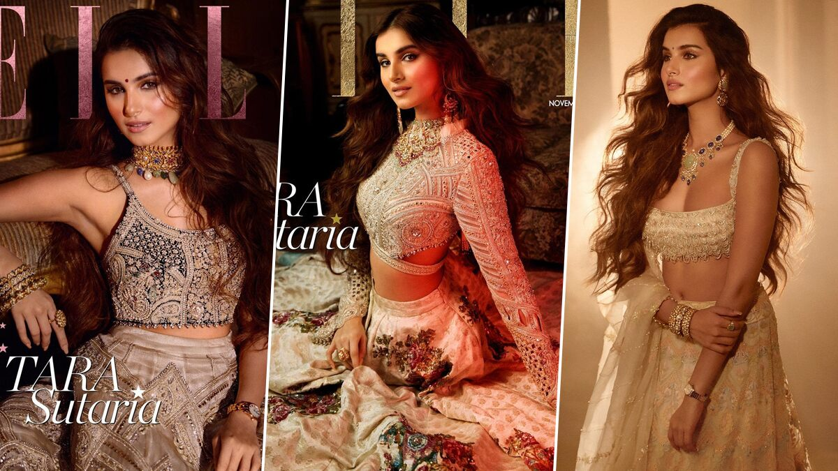 Tara Sutaria Poses on the Cover of Elle India and all We Can Say is 'Haye Main Marjaavaan' (View Pics)