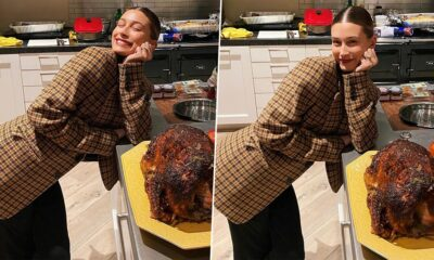 Thanksgiving 2020: Hailey Bieber Embraces Huge Smile After Cooking Turkey for First Time (View Post)