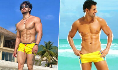 Tiger Shroff v/s John Abraham - Which 'Desi Boy' Has Your Attention in Yellow Trunks?