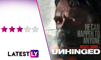 Unhinged Movie Review: Russell Crowe's Deranged Performance Makes This Gripping but Problematic Thriller Worth a Watch (LatestLY Exclusive)