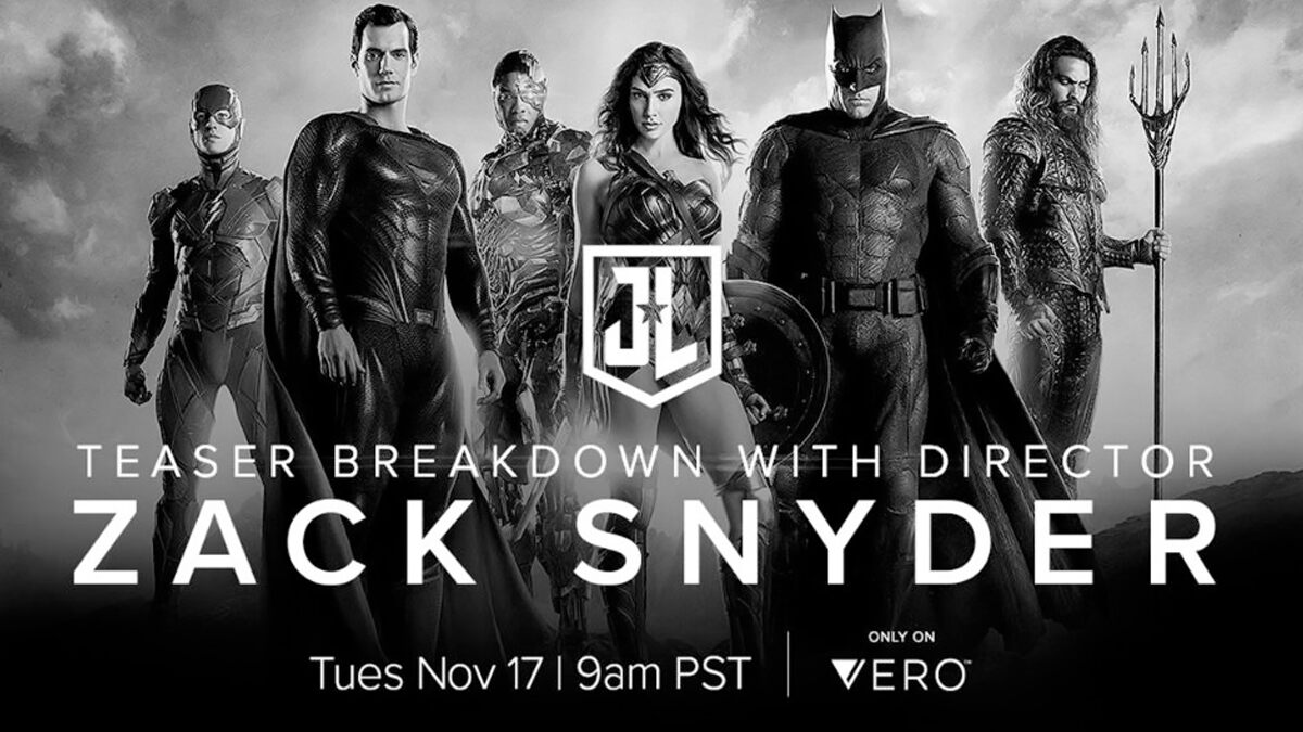#ZackSnydersJustice League: Filmmaker To Do A Trailer Breakdown on November 17 and DC Fans Cant Keep Calm (View Tweets)