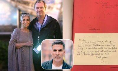 Akshay Kumar Shares Tenet Director Christopher Nolan's Appreciation Note for Dimple Kapadia, Says 'Here's My Proud Son-in-Law Moment' (Read Tweet)