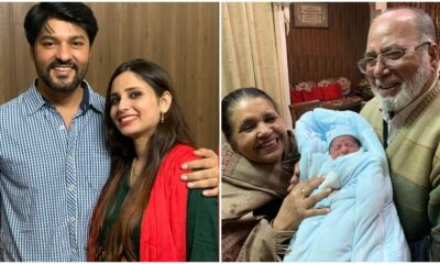 Anas Rashid And Heena Iqbal Blessed With Second Child! Diya Aur Baati Hum Actor Shares Pics Of His Son On Instagram
