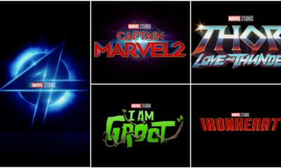 Captain Marvel 2, Thor: Love and Thunder, Ironheart, Fantastic Four, I Am Groot – Marvel Studios Announces The Movies And TV Series Releases For Phase Four And Five