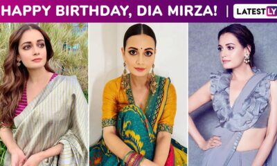 Dia Mirza Birthday Special: Ethereal Charm Is a Constant Accompaniment to All of Her Timelessly Elegant Ethnic Styles!