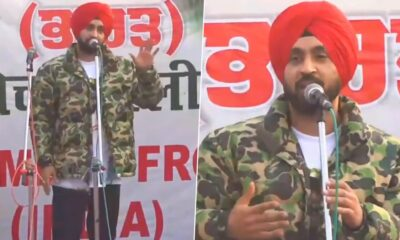 Diljit Dosanjh Asks Farmers to Be Patient, Hold Peaceful Protests; Requests Govt to Accept Their Demands (Watch Video)