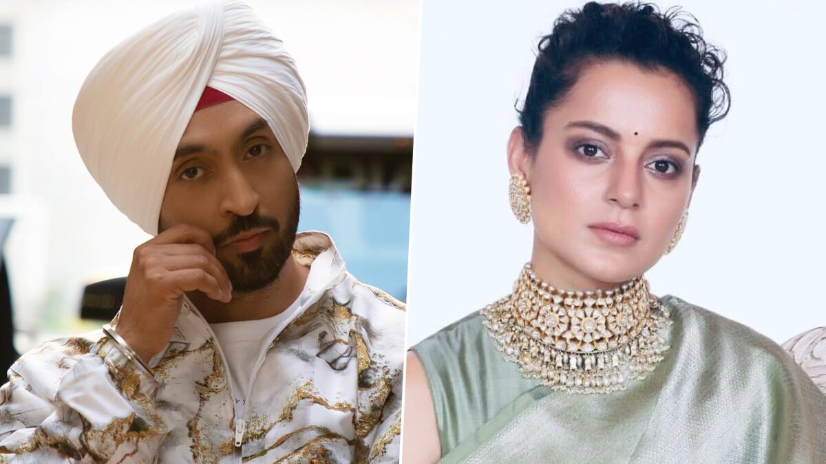 Diljit Dosanjh's Twitter War With Kangana Ranaut Over Farmers' Protests Inspires Netizens to Come Up With Funny Memes and Jokes (View Tweets)