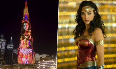Gal Gadot Is Over the Moon As Her Wonder Woman 1984 Trailer Shines High on the Burj Khalifa (Watch Video)