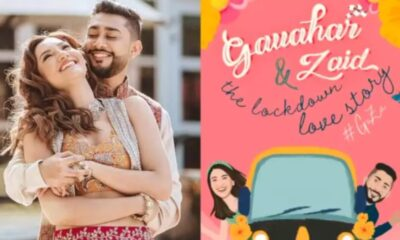 Gauahar Khan and Zaid Darbar's Digital Wedding Invite Reveals Their 'Lockdown Love Story' (Watch Video)