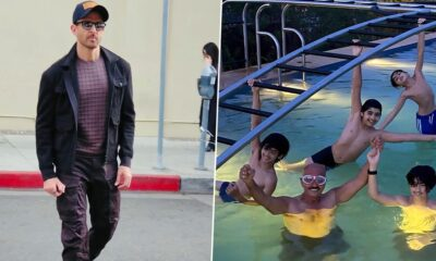 Hrithik Roshan Shares A Photo Of 'Papa Bear' Rakesh Roshan Enjoying Pool Time With His 'Cubs'! Zayed Khan Says, 'True Happiness In One Picture'
