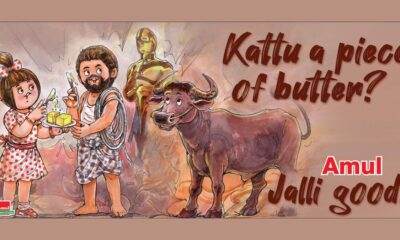 Jallikattu: Amul Topical Celebrates Malayalam Movie's Official Entry to the 2021 Oscars for India (See Pic)