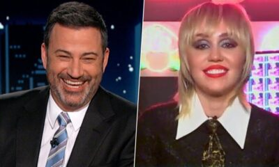 Jimmy Kimmel Live! Miley Cyrus Was Surprised to Know the Number of Tattoos She Has (Watch Video)