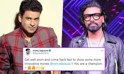 Manoj Bajpayee Wishes Remo D'Souza a Speedy Recovery, Says 'Come Back Fast to Show Some More Innovative Moves'