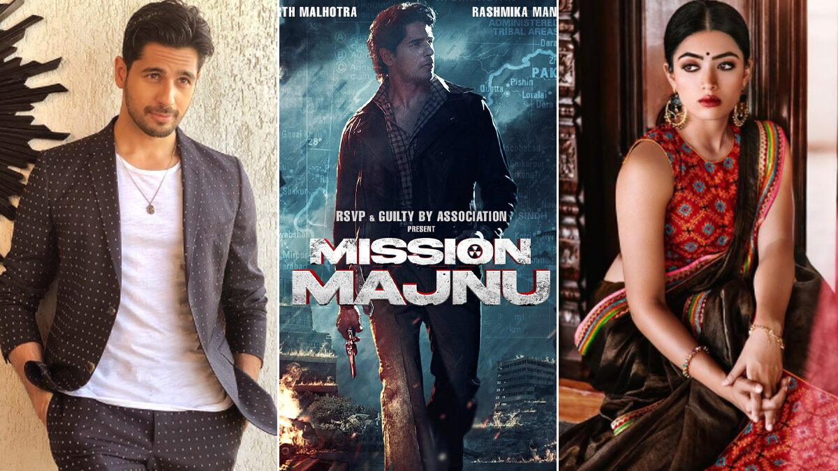 Mission Majnu: Rashmika Mandanna To Make Her Bollywood Debut Opposite Sidharth Malhotra In Shantanu Bagchi's Film!
