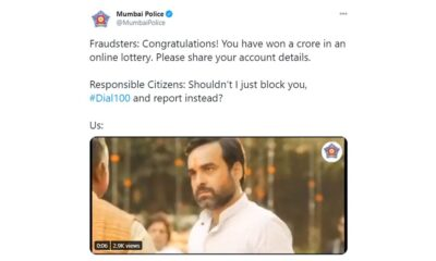 Mumbai Police Uses 'Pankaj Tripathi and His Neck' Meme to Convey a Very Important and Responsible Message