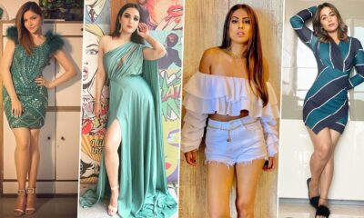 New Year Party Outfit Ideas: Let Hina Khan, Rubina Dilaik and Jasmin Bhasin Help You Pick the Right Outfit For the Big Bash (View Pics)