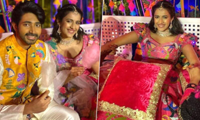 #NisChay Wedding: Pictures From Niharika Konidela and Chaitanya JV's Mehendi Ceremony Take The Internet By Storm!