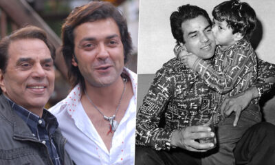 On Dharmendra's 85th Birthday, Bobby Deol Shares Adorable Childhood Picture to Wish His Father (See Pic)