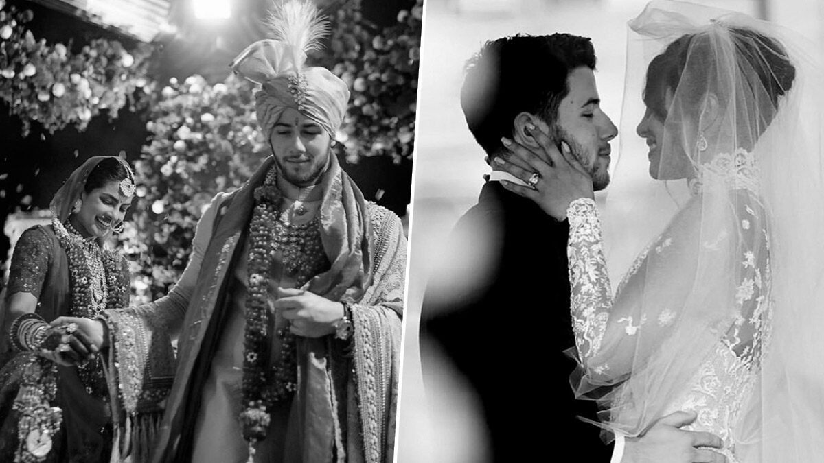 Priyanka Chopra & Nick Jonas Anniversary Special: Let's Take a Look at Every Music Video the Star Couple Has Featured In (Watch Videos)
