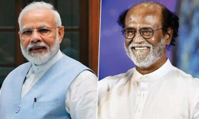 Rajinikanth Turns 70, PM Narendra Modi Wishes the Superstar on His Birthday, Prays for His Good Health and Long Life