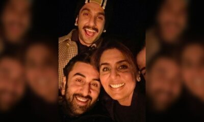 Ranbir Kapoor, Ranveer Singh, Neetu Kapoor Gear Up To Welcome New Year 2021! Trio Can't Stop Smiling As They Pose For A Cute Selfie