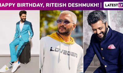 Riteish Deshmukh Birthday Special: Reaffirming Why His Dandy Demeanour Underlines a Perfect Modern Style!