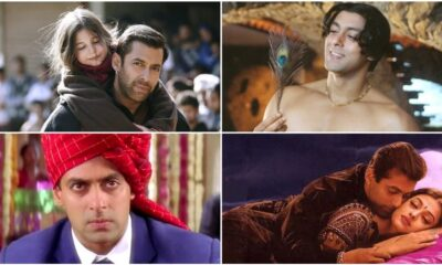 Salman Khan Birthday Special: From Saajan to Bajrangi Bhaijaan, 10 Highest Rated Films of the Superstar on IMDB and Where to Watch Them Online