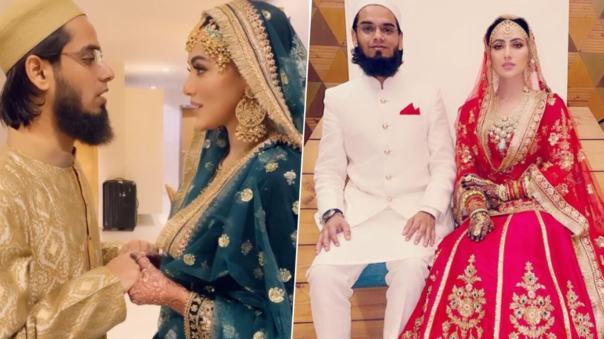 Sana Khan's Husband Maulana Anas Saiyad On His Wife's Decision to Quit Showbiz: 'I Have Never Forced Her To Lead Life in A Certain Way'