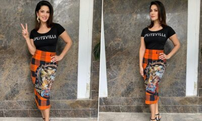 Sunny Leone Is Happy to be Back at Work, Begins The shoot for MTV Splitsvilla X3