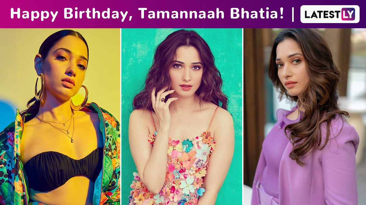 Tamannaah Bhatia Birthday Special: Perennially and Seamlessly Flipping From Being Girly and Flirty to Edgy and Chic!