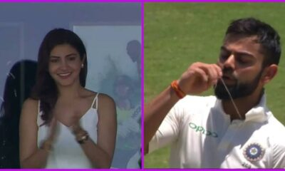 Virat Kohli-Anushka Sharma 3rd Wedding Anniversary Special: 5 Times Indian Cricket Team Captain Displayed Love for his Wife On-field