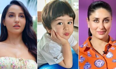 4-Year-Old Taimur Gets Marriage Proposal From Nora Fatehi And His Mommy Kareena Kapoor Khan Is Left Speechless