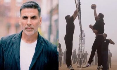 Akshay Kumar Celebrates Army Day by Meeting Some of Our Jawans and Playing Volleyball With Them (Watch Video)