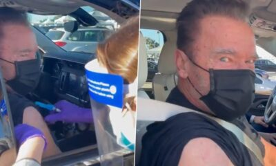 Arnold Schwarzenegger Receives COVID-19 Vaccine And The Terminator Star Says, 'Come With Me If You Want To Live' (Watch Video)