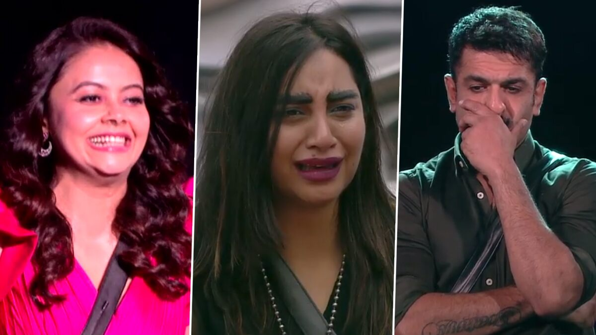 Bigg Boss 14 Promo: Arshi Khan Tears Up As Eijaz Khan Is Asked to Leave the Show Suddenly, Devoleena Bhattacharjee Enters the House As His Proxy