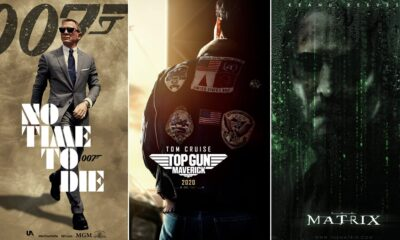 Hollywood Releases 2021: Daniel Craig's No Time To Die, Tom Cruise's Top Gun Maverick, Keanu Reeves' The Matrix 4 and More