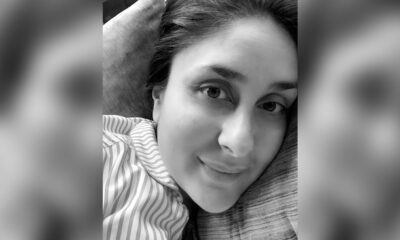 Kareena Kapoor Khan Channels Monday Mood in Pyjamas; Actress Shares Her Monochrome Pic on Instagram