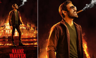 Naane Varuven First Look Poster: Dhanush and Selvaraghavan Collaborate for a Fiery Actioner!