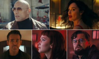 Netflix's Preview of 2021 Teases Dwayne Johnson, Gal Gadot, Ryan Reynolds' 'Red Notice', Leonardo DiCaprio, Jennifer Lawrence's 'Don't Look Up' and More (Watch Video)