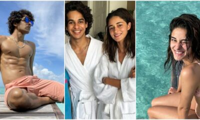 Pictures Of Ishaan Khatter and Ananya Panday, Rumoured Couple Of B-Town, Doing Rounds Since Their Maldivian Getaway