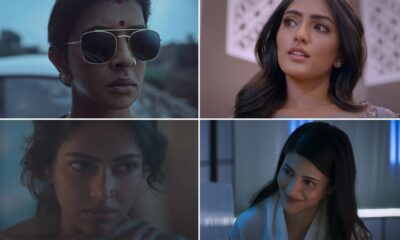Pitta Kathalu Teaser: Shruti Haasan, Eesha Rebba, Amala Paul, Lakshmi Manchu's Netflix Drama Is All About Love And Betrayal, To Premiere From February 19 (Watch Video)