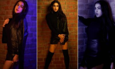 Sara Ali Khan Reaffirms Black is The Queen of Colours With Her New Fashion Outing