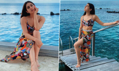 Sara Ali Khan Treats Fans With Her Exotic Photos From Maldives Vacation