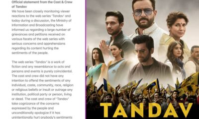 Tandav Row: The Makers of Saif Ali Khan's Amazon Prime Series Offer 'Sincere Apologies' for Hurting Sentiments, Director Ali Abbas Zafar Shares the Same on Twitter