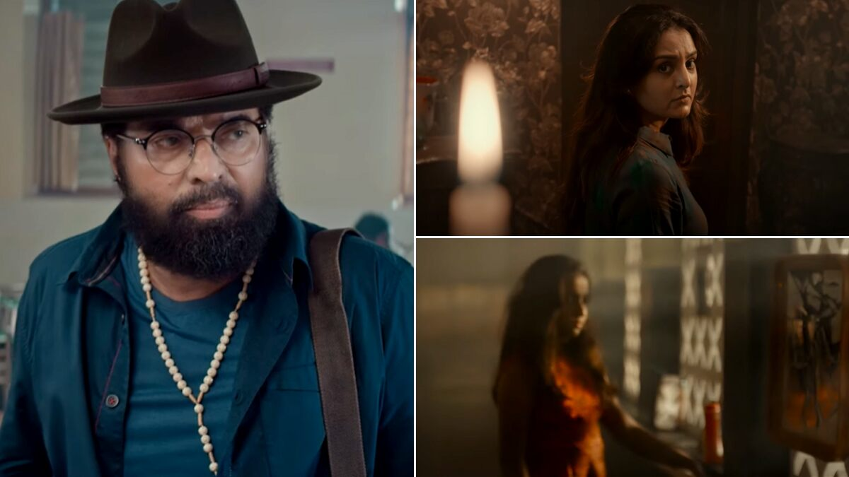 The Priest Teaser: Mammootty and Manju Warrier's Thriller Raises Intrigue Level With Its Goosebumps-Inducing BGM (Watch Video)