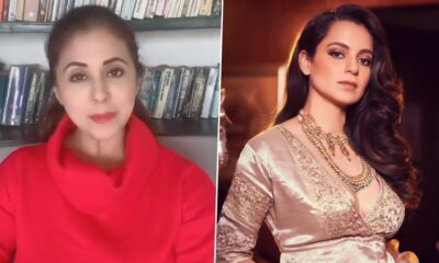 Urmila Matondkar Responds to Kangana Ranaut's Jibe Over the Former's Property Purchase Post Joining Shiv Sena (Watch Video)