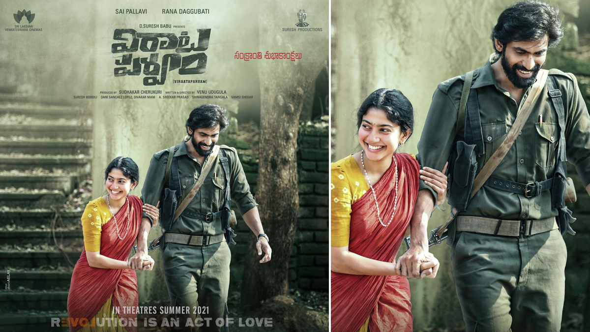 Viraata Parvam: Rana Daggubati Unveils a New Poster and Shares That the Film Will Release This Summer
