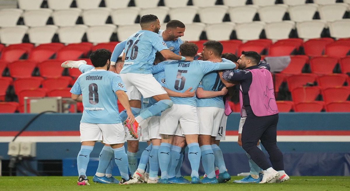 Kevin de Bruyne & Riyad Mahrez Lead Manchester City to an Impressive 2-1  Win Over PSG in UCL 2021 Semi-Finals, Watch Goal Highlights - Onhike -  Latest News Bulletins