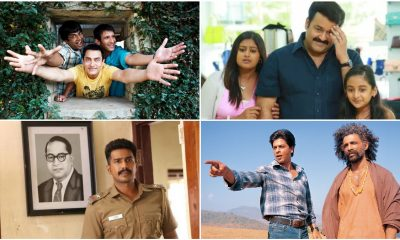 Aamir Khan's 3 Idiots, Mohanlal's Drishyam, Shah Rukh Khan's Swades – 10 Indian Movies That Actually Make It to IMDb's Top 250 Highest Rated Movies (LatestLY Exclusive)