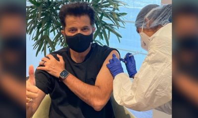 Anil Kapoor Shares Pic of Getting the Second Shot of COVID-19 Vaccine